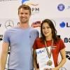 Prima medalie pentru înotul harghitean la Campionatele Naţionale