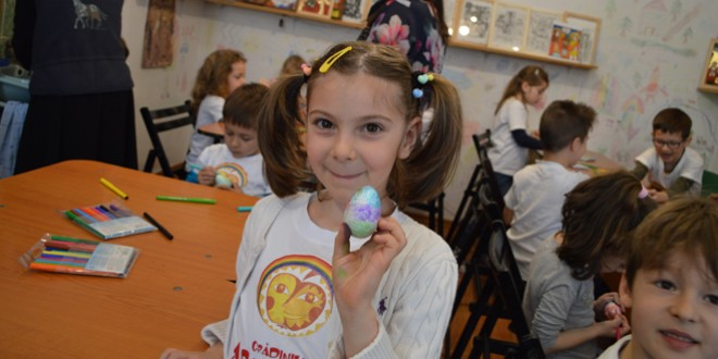 Activităţi educativ-recreative în preajma Paştilor