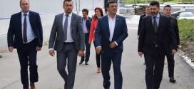 Ministrul Economiei, Niculae Bădălău, în vizită de lucru la Borsec şi Praid