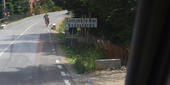 S-a reintrodus cursa de autobuz către Sântimbru Băi