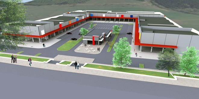 Primul parc retail din Miercurea Ciuc se va deschide în luna martie