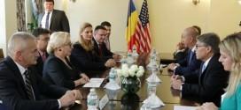 Întrevederi ale premierului României cu oficiali americani
