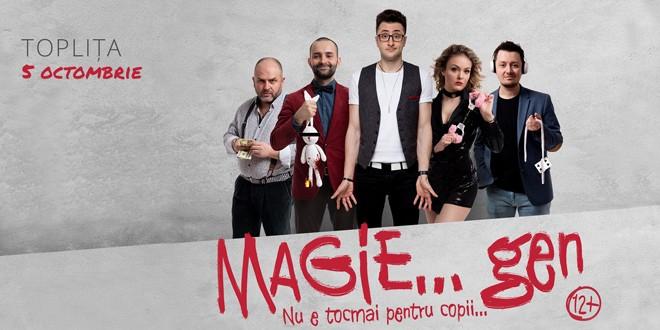 <h6><i>Topliţa, 5 octombrie:</i></h6> Show de magie marca Vlad Grigorescu