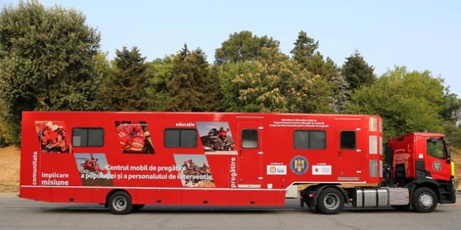 """Caravana SMURD """"Fii pregătit!"""" ajunge săptămâna viitoare în Harghita"""
