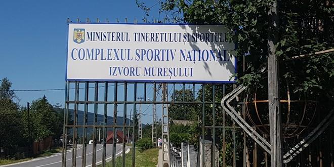 Opt federaţii sportive şi 20 de cluburi din ţară au efectuat cantonamente la Izvoru Mureşului
