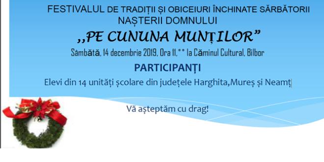 Evenimente organizate în Nordul judeţului