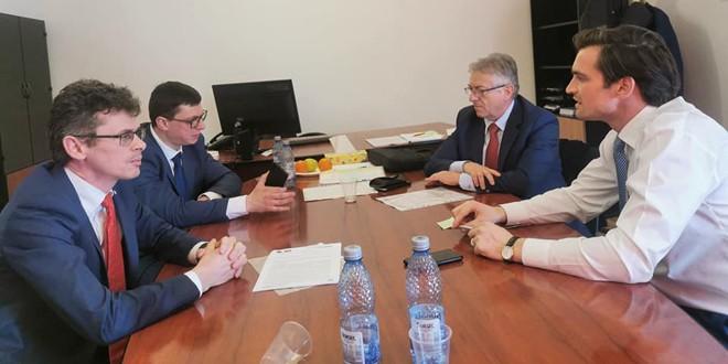 Discuţii şi speranţe de la Bucureşti pentru o serie de investiţii în Topliţa