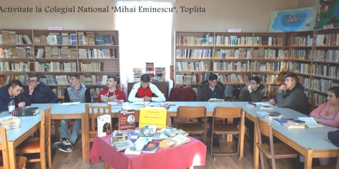 Ziua Culturii Naţionale; Eminescu omagiat în instituţiile şi şcolile din Harghita