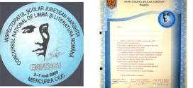 Dor de Concursul Naţional <i>Mihai Eminescu</i>
