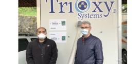 Apemin Tuşnad şi Fundaţia pentru Parteneriat donează un generator de ozon şi echipamente de protecţie Serviciului Judeţean de Ambulanţă Harghita