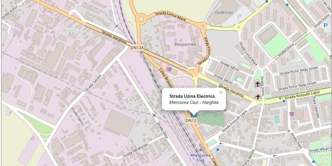 Măsuri pentru fluidizarea traficului pe strada Braşovului din Miercurea Ciuc