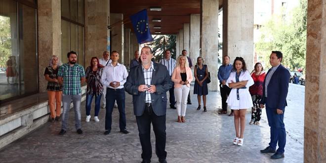 Alianţa USR PLUS şi-a prezentat echipa harghiteană pentru alegerile locale