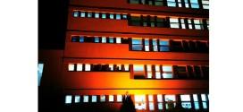 Spitalul judeţean iluminat în portocaliu, de Ziua Mondială a Siguranţei Pacientului