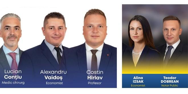 PSD şi PNL şi-au stabilit consilierii judeţeni harghiteni