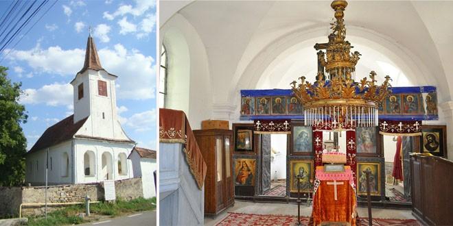 Biserica pustiită de la Porumbenii Mari