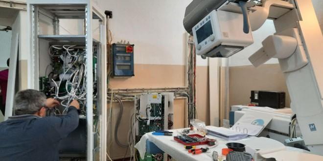 Aparat Röntgen performant achiziţionat pentru Secţia de Pneumologie a SJU Miercurea Ciuc