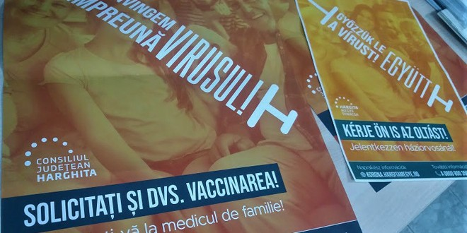 Campanie de informare cu privire la avantajele vaccinării împotriva COVID-19