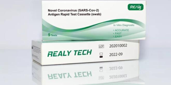Testele rapide antigen au ajuns în Harghita