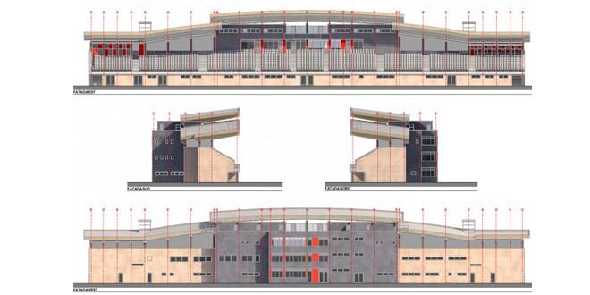 Se va reabilita tribuna a doua a stadionului din Miercurea Ciuc
