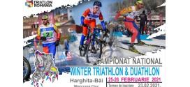 Campionatul Național de Winter Triathlon, la Harghita Băi