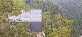 Cabine montane panoramice, amplasate în Cheile Bicazului