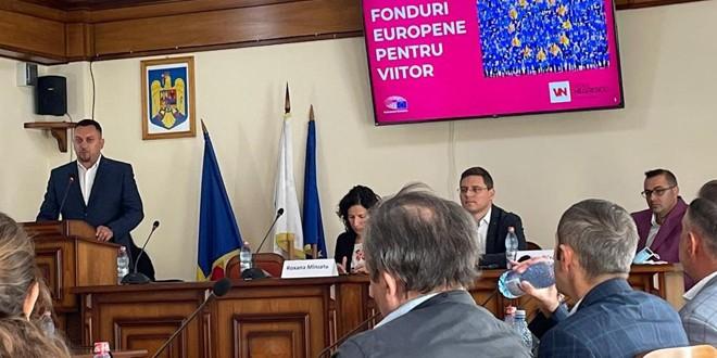 Sesiune de informare privind oportunităţile de finanţare existente la nivel european, organizată la Topliţa