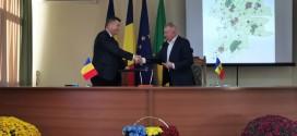 Acordul de colaborare între Consiliul Judeţean Harghita şi Raionul Străşeni – Republica Moldova a fost semnat