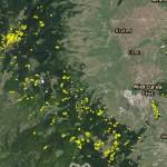 tăierile rase din Munţii Harghitei, zona vestică a localităţilor Siculeni – Miercurea-Ciuc – Sânsimion
