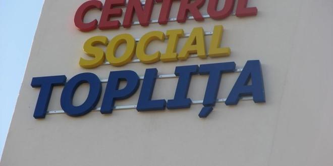 Centrul Social din Topliţa şi-a deschis porţile