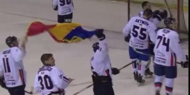 Drapelul României şi jucătorii huiduiţi la Gheorgheni