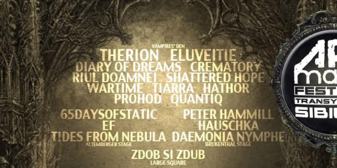 Șapte noi concerte de poveste la ARTmania Festival Sibiu 2014, în Vampires' Den
