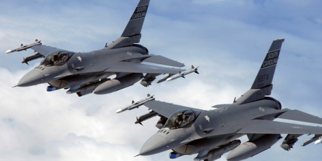 Primii aviatori care vor face trecerea pe aeronave F-16 au plecat ieri în Portugalia