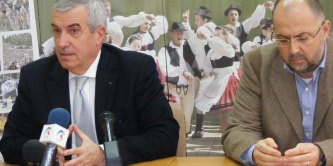 Campania electorală pe ultimii zeci de metri: Călin Popescu Tăriceanu doreşte continuarea colaborării cu UDMR în cazul în care va fi desemnat premier