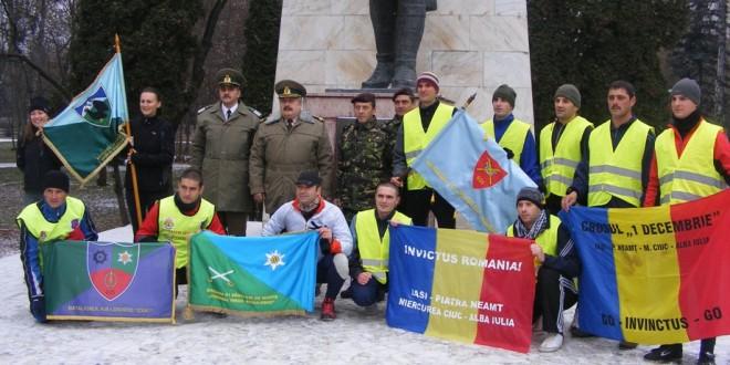 Militari harghiteni, prezenţi la manifestările de la Alba Iulia