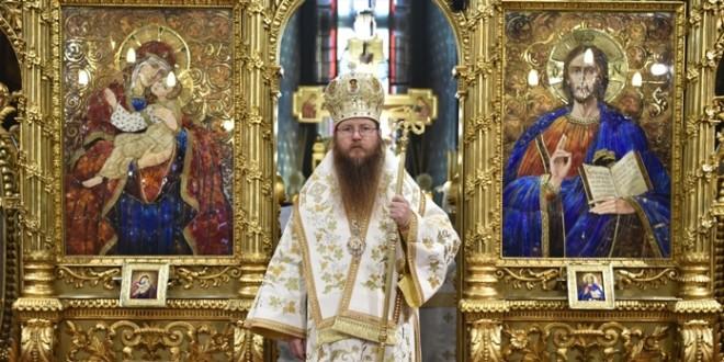 Ceremonia religioasă de întronizare a noului ierarh