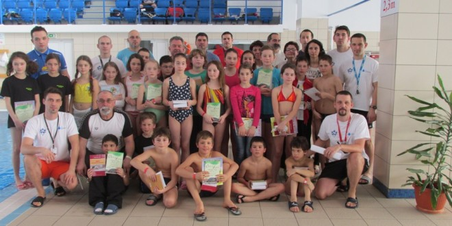 Campionatul Municipal de înot, la Miercurea-Ciuc