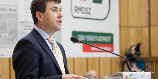 Borboly Csaba, reconfirmat în funcţia de preşedinte al Organizaţiei Teritoriale UDMR Ciuc
