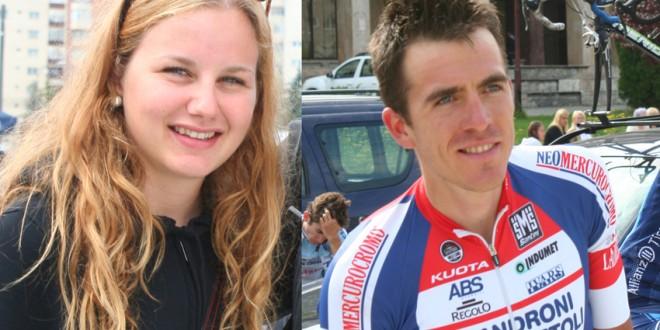 CICLISM: Serghei Ţvetcov şi Ana Covrig, campionii României la ciclism