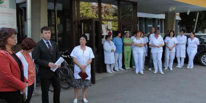 Peste o sută de posturi vacante la Spitalul Judeţean de Urgenţă!