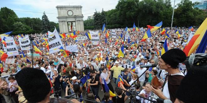 30.000 de participanţi la Marea Adunare Naţională de la Chişinău
