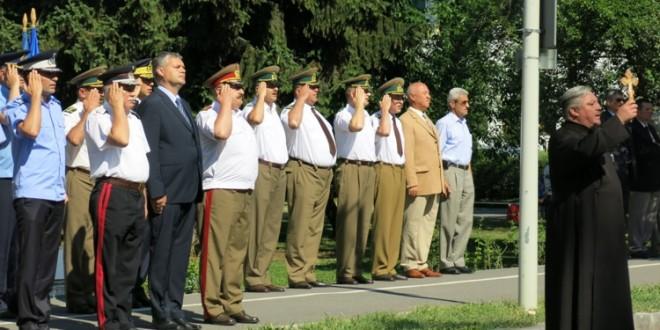 De Ziua Imnului Naţional, Deşteaptă-te române! a fost intonat în centrul municipiului Miercurea-Ciuc