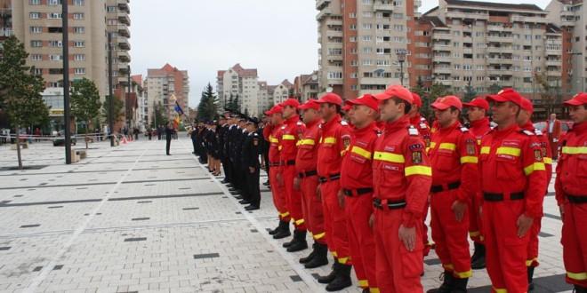Exerciţii demonstrative şi invitaţi de marcă la Miercurea-Ciuc, cu ocazia Zilei Pompierilor din România