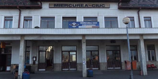Lucrările de modernizare la gara din Miercurea-Ciuc ar putea să înceapă la sfârşitul lui 2016