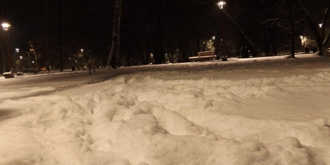 Minus 17,4 grade Cesius, cea mai scăzută temperatură a iernii actuale în Harghita