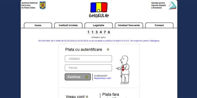 Primăria Miercurea-Ciuc este înregistrată în Sistemul Naţional Electronic de plată on-line a taxelor şi impozitelor utilizând cardul bancar