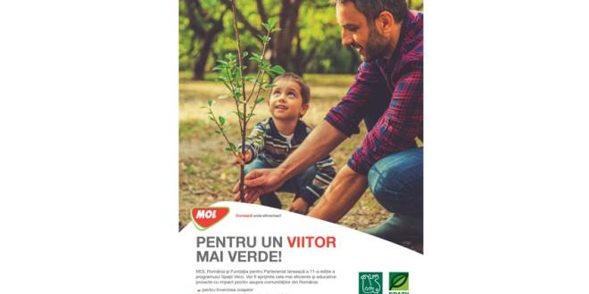 """Programul ,,Spaţii Verzi"""" – ediţia a XI-a: MOL România finanţează cu 661.000 lei – 48 de proiecte de mediu"""