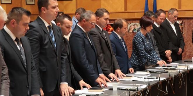 Şedinţa de constituire a Consiliului Judeţean Harghita