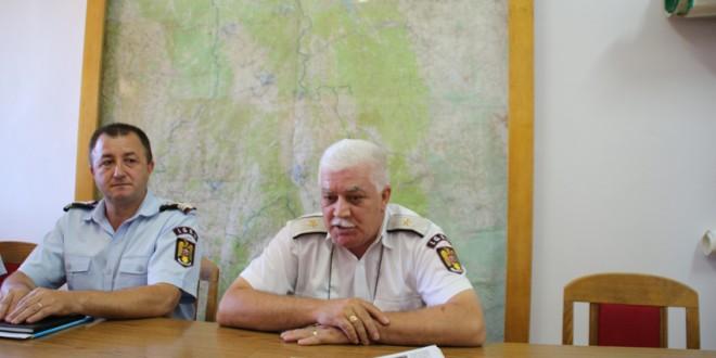 Ultima întâlnire a generalului Gheorghe Pop cu presa harghiteană