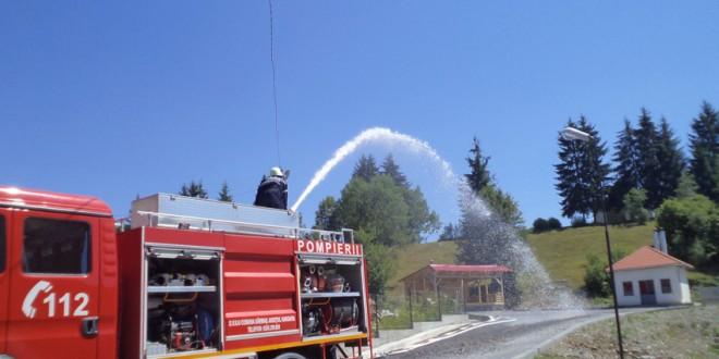 Deficit de pompieri în judeţul Harghita