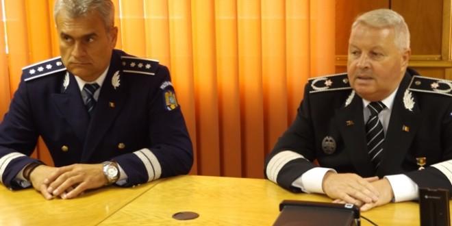 Cel mai vechi şef de inspectorat de poliţie judeţean din ţară s-a pensionat